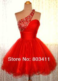 online get cheap homecoming dresses red short aliexpress com