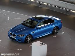 loaded f10 m5 individual in special one off blue paint interior