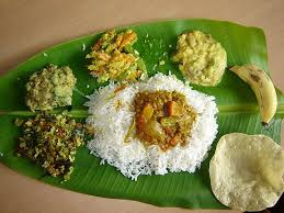 cuisine ayurveda lunch in india so this is more traditional kerala cuisine