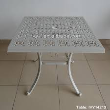 Patio Furniture Assembly Foshan Patio Furniture Outdoor Dia Casting Aluminum Dining Table 4