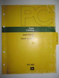 buy john deere 644g loader parts catalog book manual original
