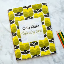 Mid Century Patterns by Orla Kiely Mid Century Colouring In For Adults By Berylune