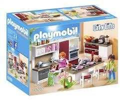 cuisine playmobile playmobil city 9269 cuisine aménagée dreamland