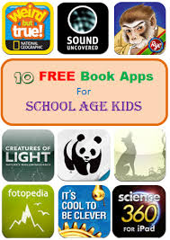 10 free book apps for school age