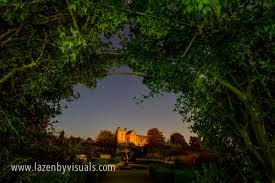 night time over helmsley castle u0026 walled garden lazenby visuals