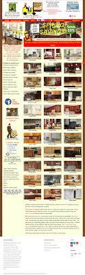 kitchen cabinet depot reviews kitchen cabinet depot s competitors revenue number of
