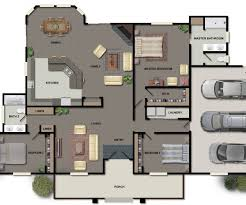 open floor plan farmhouse magnificent home design house plans sims large most and home