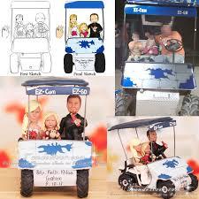 golf cart cake topper the best cart