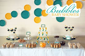 modern baby shower modern creative bubbles baby shower hostess with the mostess