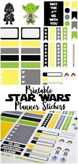 erin condren life planner free printable stickers free star wars themed printable planner stickers for your erin