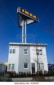 Ikea Prefab House by Prefab Houses Stock Photos U0026 Prefab Houses Stock Images Alamy