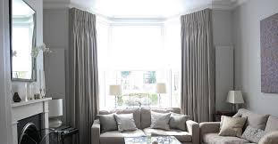 home decor decorating stunning curtain solutions for bay windows bay