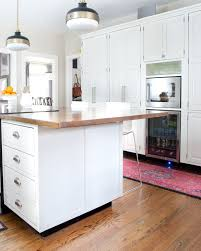 how to add a kitchen island how to add detail to a plain kitchen island the chronicles of home