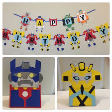 printable transformers birthday banner 22 best transformers party 5th birthday images on pinterest
