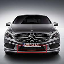 mercedes a class original mercedes front grille amg styling w176
