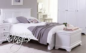 Painted French Shabby Chic Furniture - White bedroom furniture nottingham