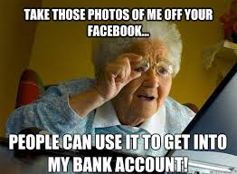What Is A Meme On Facebook - take those photos of me off your facebook people can use it to