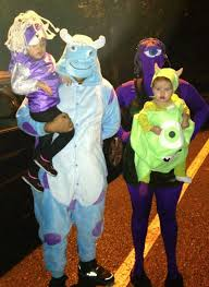 monsters inc family halloween costumes pictures to pin on