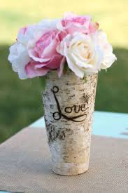 Birch Bark Vases Fakin U0027 It Forget The Flowers I Just Want The Handmade Vases