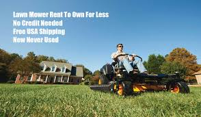 residential lawn mower rent to own lawn mower rent to own com