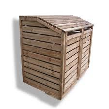 meuble cache poubelle cuisine cache poubelle double en bois u directchezvous com
