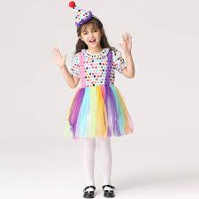 Rainbow Halloween Costume Cheap Rainbow Clown Costume Aliexpress Alibaba Group