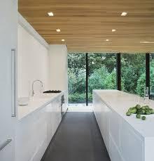 modern kitchen without cabinets kitchen design idea white modern and minimalist cabinets