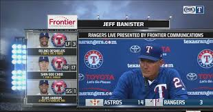 Jeff Banister Jeff Banister U0027doesn U0027t Feel Good U0027 Fox Sports