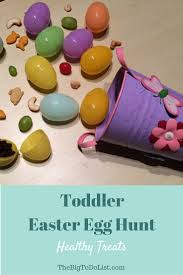 Easter Egg Hunt Ideas Healthy Treats For A Toddler Easter Egg Hunt Urban Mommies