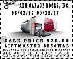 windsor garage door bottom seal adm garage door inc of folsom garage door repairs