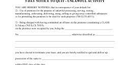 free eviction notice form pdf word do it yourself forms