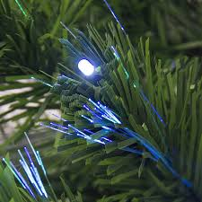 ideas 4 pre lit christmas tree fiber optic christmas tree for