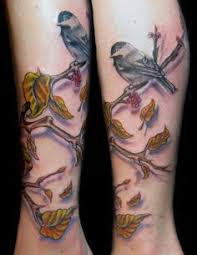 abstract bird art by abby diamond tattoo done by tree flores of