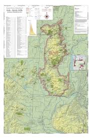 Oregon Wine Country Map by Overview Eola Hills
