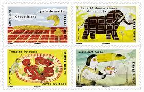 timbre bureau de tabac carnet le goût 12 timbres autocollants boutique particuliers