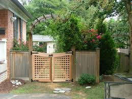 Metal Arbor With Gate Wooden And Metal Gates