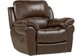 vercelli brown leather rocker recliner leather recliners brown