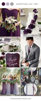 plum wedding plum lilac and grey wedding inspiration grey weddings lilacs