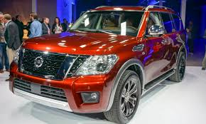 nissan armada wireless headphones 2016 chicago auto show 2017 nissan armada first look autonxt