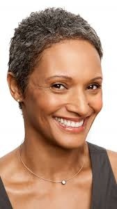 pretty short hairstyles for african american women over 50