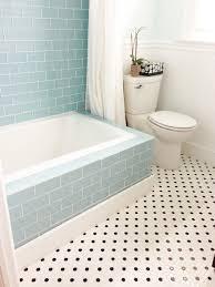 tile bath blue glass subway tile bathroom my web value