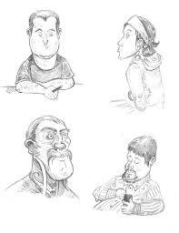 character sketch sketcharound