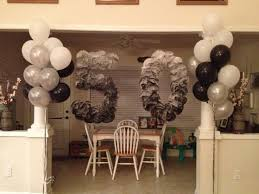 50th birthday party decorations black white and grey 50th birthday party ideas for men tony s