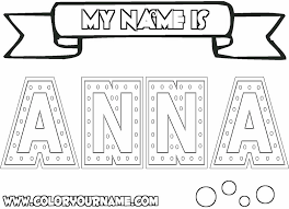 anna coloring