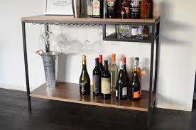 Metal Bar Cabinet with Wood Bar Cart Designs Popularity Of Wood Bar Cart U2013 Modern Wall