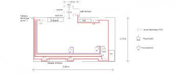 schema electrique chambre devis de l électricité
