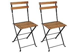 Folding Bistro Chairs Bistro Folding Chair Wayfair