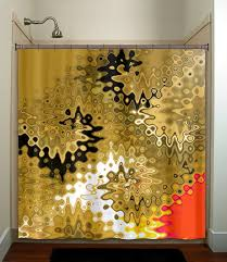 Purple And Gold Shower Curtain Abstract Red Gold Shower Curtain Bathroom Decor Fabric Kids Bath