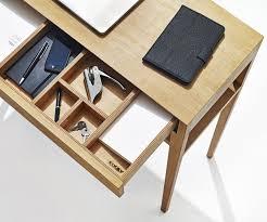 Kleiner Schreibtisch Mit Viel Stauraum Theo Light Desk Von Sixay I Holzdesignpur