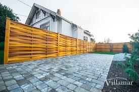 renovations exterior landscape fence linden villamar
